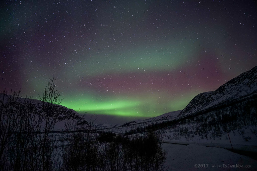 Red Northern Lights! (Senja)